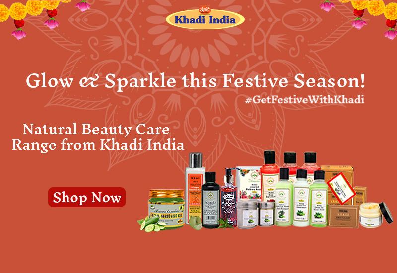 Official Ecommerce Portal of Khadi India promo