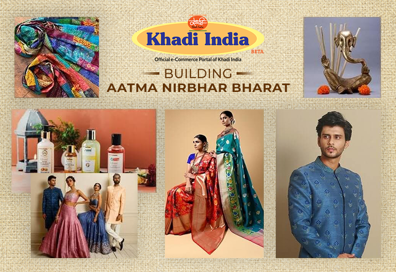 Official Ecommerce Portal of Khadi India promo
